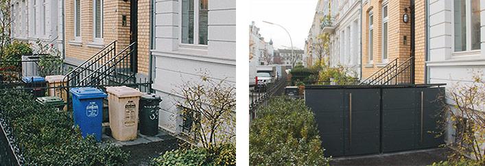 m lltonnenboxen verbessern stadtbild in bonn. Black Bedroom Furniture Sets. Home Design Ideas