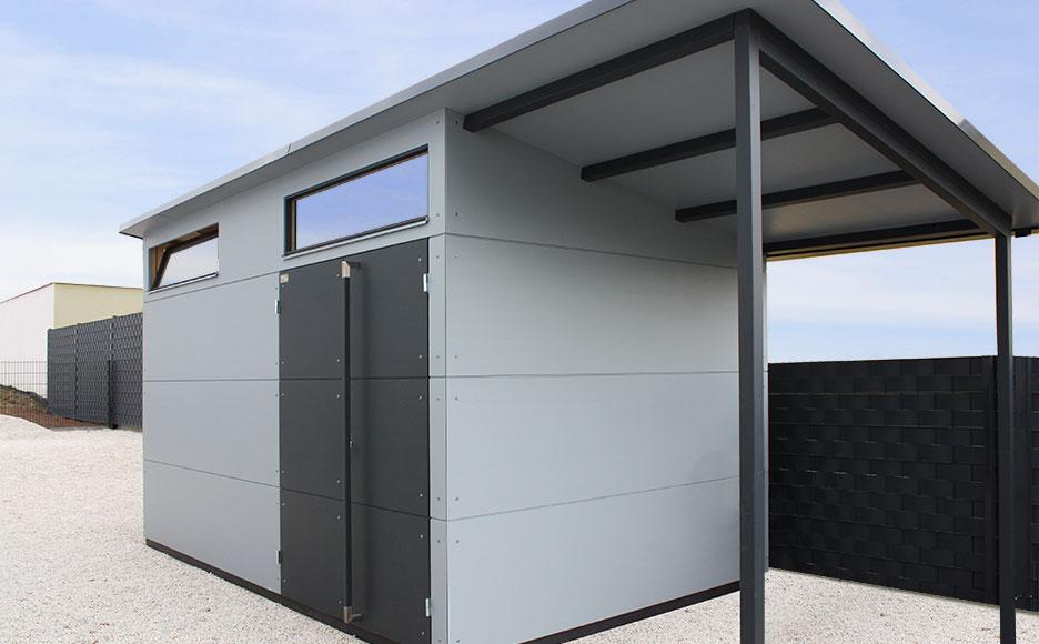 design gartenhaus gartana design gartenhaus. Black Bedroom Furniture Sets. Home Design Ideas