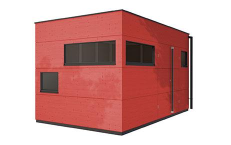 gartenhaus trennwand einhausung carport gartana. Black Bedroom Furniture Sets. Home Design Ideas