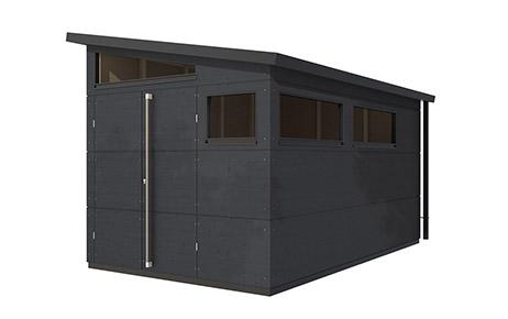 gartenhaus pultdach xl. Black Bedroom Furniture Sets. Home Design Ideas