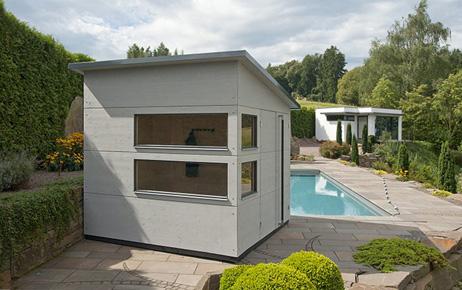 Gartenhaus pultdach gartana viele gr en - Gartengestaltung grundriss ...