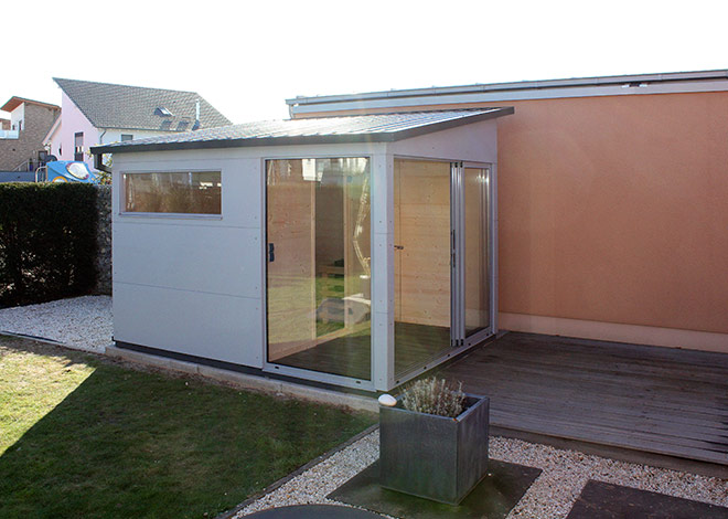 sauna gartenhaus gartana lebensqualit t pur. Black Bedroom Furniture Sets. Home Design Ideas