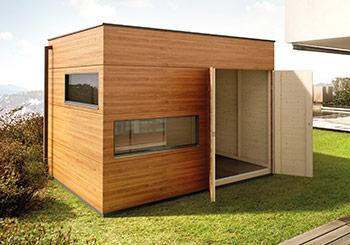 Gartenhaus Flachdach Top Design Service Gartana