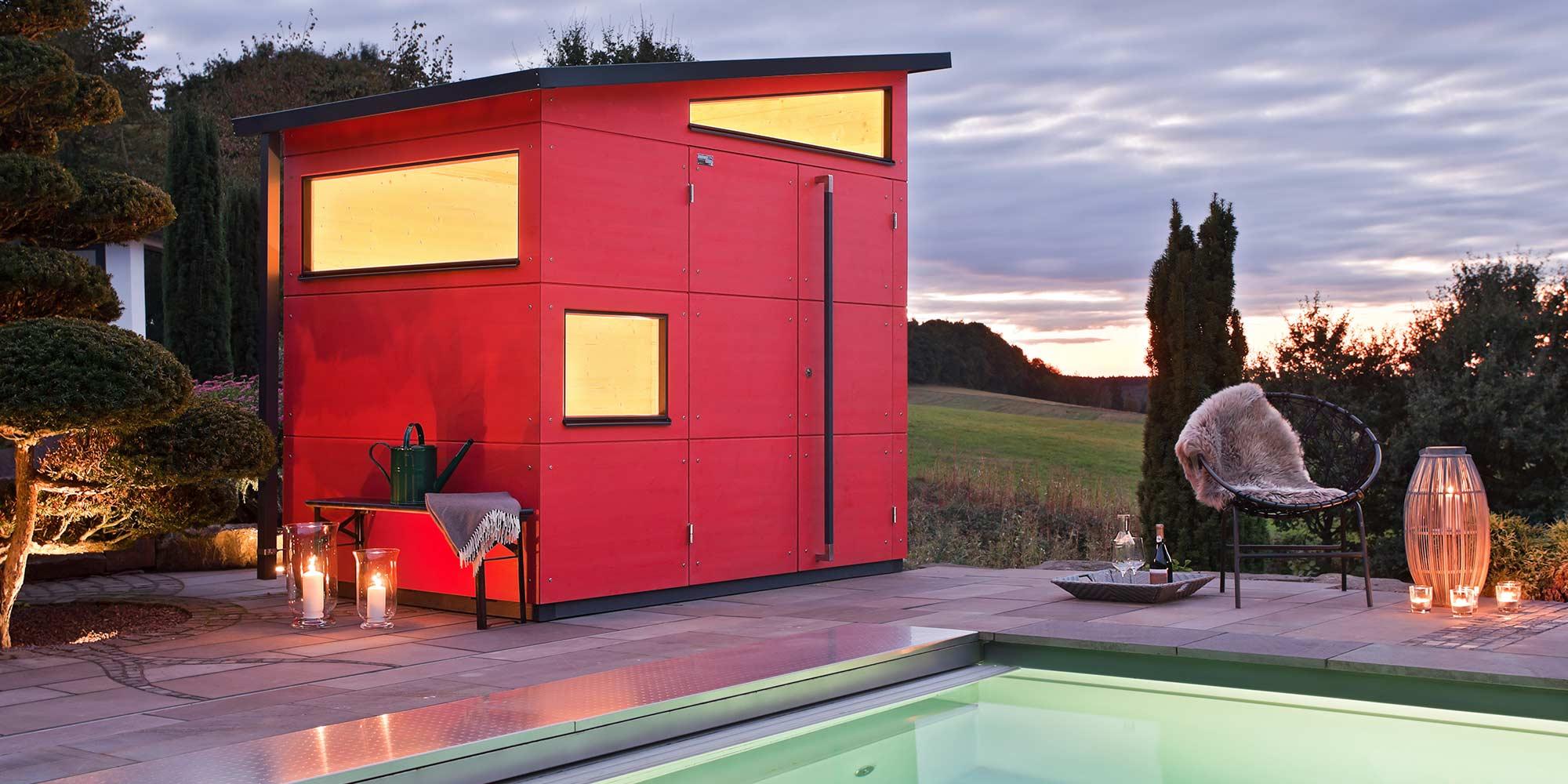 Bilder & Fotos Holz-Gartenhaus | Gartenhaus Galerie | GARTANA