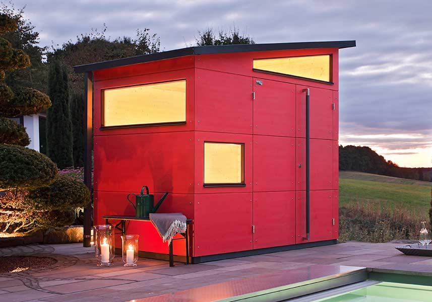 Design-Gartenhäuser | Holz-Gartenhaus | GARTANA