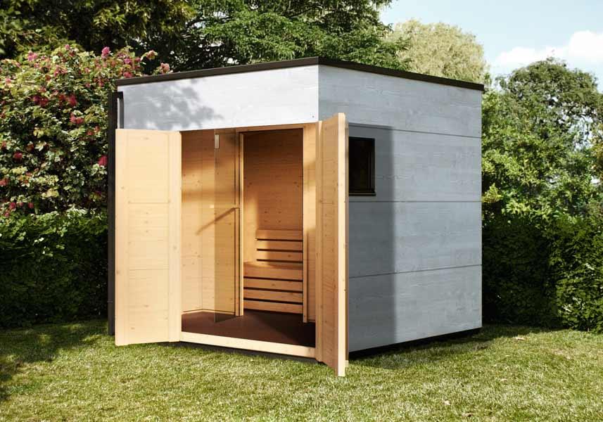 Sauna im Garten | GARTANA | Top-Design & Wellness pur