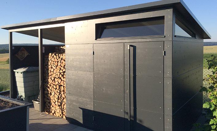 funktionen f r das gartenhaus gartana. Black Bedroom Furniture Sets. Home Design Ideas