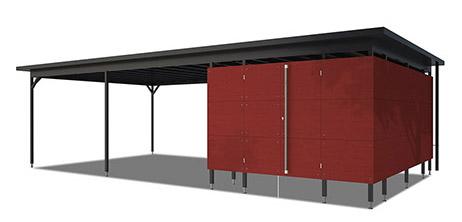 Design-Carport | Individuell gestaltbar | GARTANA