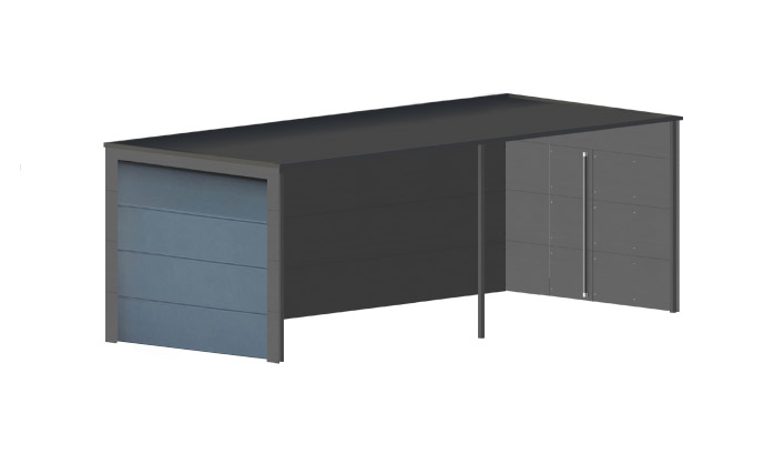 design carport individuell gestaltbar gartana. Black Bedroom Furniture Sets. Home Design Ideas