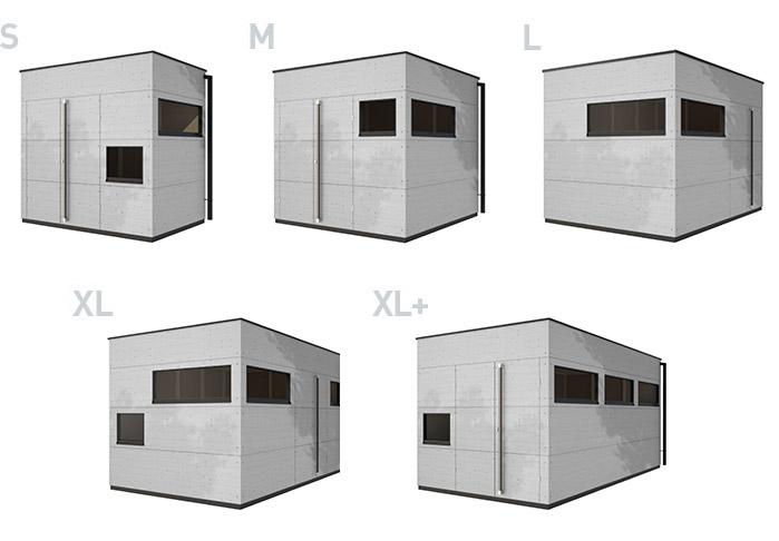 gro e kleine gartenh user gartana sie w hlen. Black Bedroom Furniture Sets. Home Design Ideas