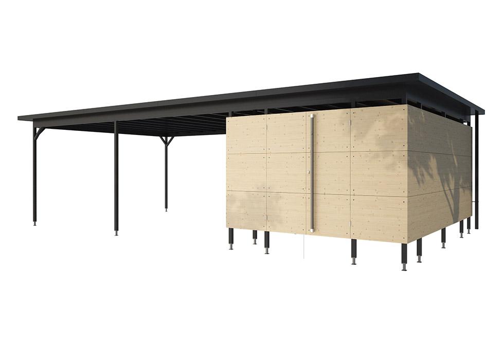 Carport, Holz-Carport, Design-Carport | GARTANA SHOP