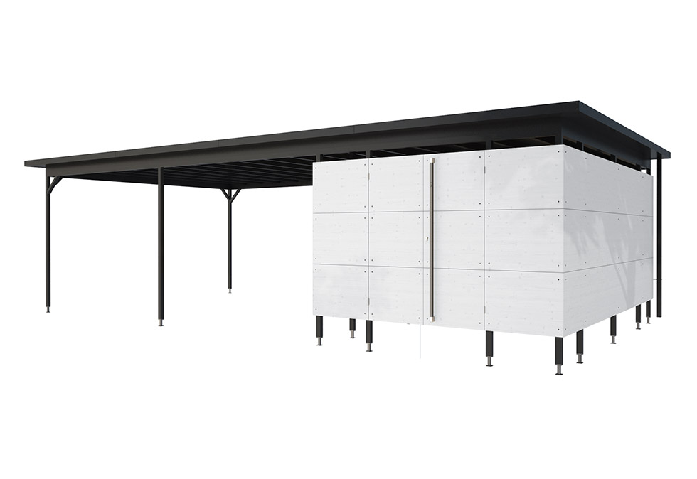 carport holz carport design carport gartana shop. Black Bedroom Furniture Sets. Home Design Ideas
