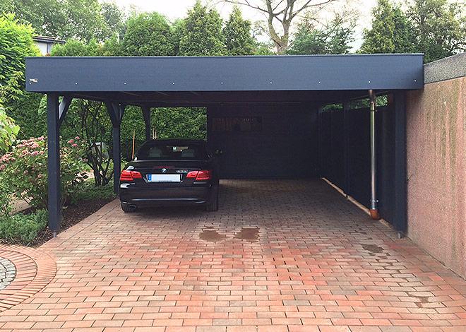 Eine vollwertige Garage: Der gartana Carport