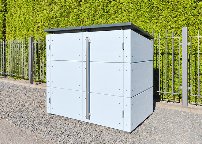 Hochwertige Design-Mülltonnenbox
