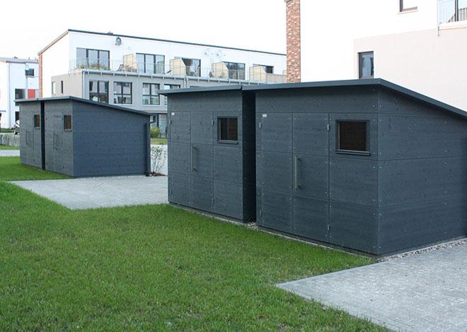 gartana Gartenhaus M für Siedlungsprojekte