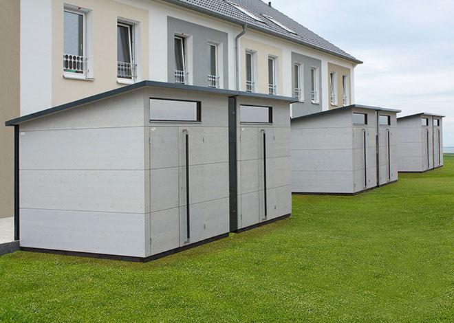 Doppelhäuser für Siedlungsprojekte