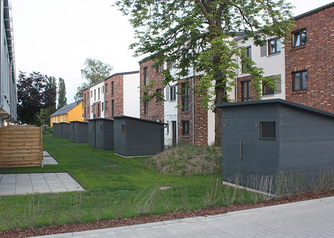 Gartenhaus M für harmonische Siedlung