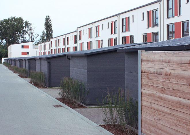 Holz-Gartenhäuser für Projektplaner