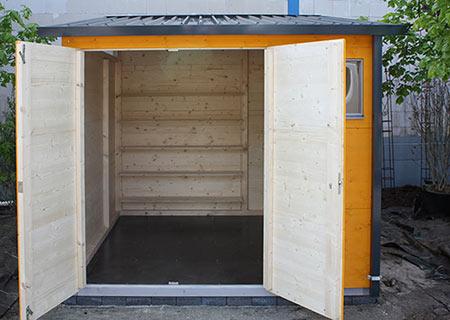 gartana Haus M als Gerätekammer