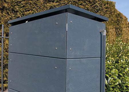 Mülltonnenbox für eine Tonne