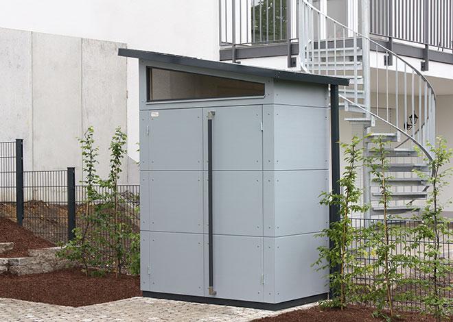 Sehr kleines Gartenhaus »Super-S«