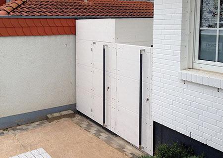 gartana Haus mit Gartentor