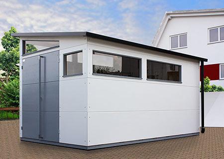 gartana Haus XL mit Fensterbändern