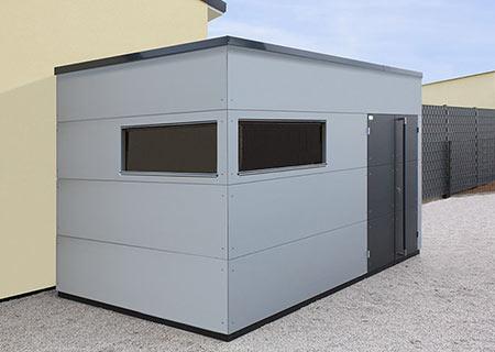 Gartenhaus XL mit Flachdach