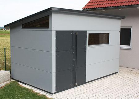 gartana Gartenhaus XL in Grau