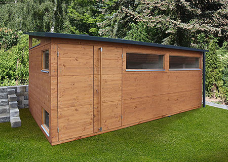 Gartenhaus XL+ in Teak