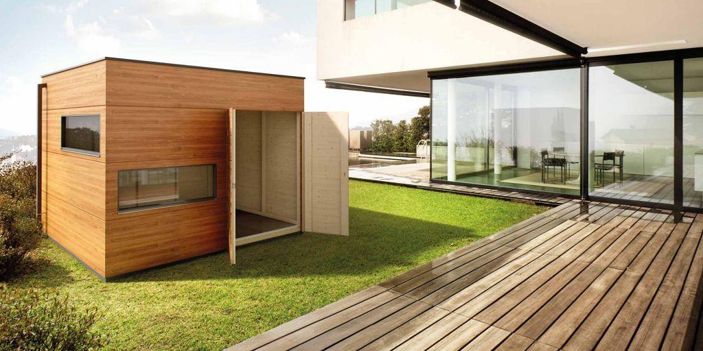 Design-Gartenhaus, Saunahaus, Design-Carport   GARTANA