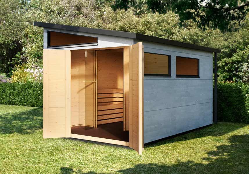 Großes Saunahaus | komfortabler Vorraum & viel Platz | GARTEN